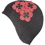 Купить Шапочка для плавания Fashy Babble Cap with Flowers 3119-06 резинатехнические характеристики фото габариты размеры