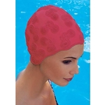 Купить Шапочка для плавания Fashy Moulded Cap 3100-00-40 резина купить недорого низкая цена
