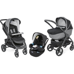 Коляска 3 в 1 Chicco StyleGo Up Jet Black