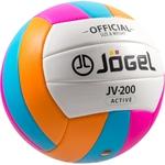 Купить Мяч JOGEL волейбольный JV-200 отзывы покупателей специалистов владельцев