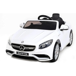 Детский электромобиль Harleybella Mercedes Benz S63 LUXURY 2.4G - White - HL169-LUX-W