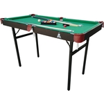 Купить Бильярдный стол DFC HOBBY складной 4 футатехнические характеристики фото габариты размеры