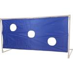 Купить Ворота футбольные с тентом для отрабатывания ударов DFC GOAL240ST 240x120x120 см. купить недорого низкая цена