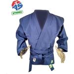 Купить Куртка для самбо GREEN HILL JS-303-40-BL, р. 40/150 одобрено FIAS (Международной федерацией самбо) купить недорого низкая цена