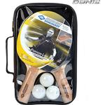 Купить Набор для настольного тенниса Donic PERSSON 500 (2 ракетки, 3 мячика, чехол)