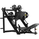 Купить Жим ногами Bronze Gym H-022 под углом 45 градусов (черный) отзывы покупателей специалистов владельцев