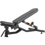 Купить Скамья регулируемая Bronze Gym H-037 (черный) купить недорого низкая цена