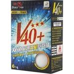 Купить Мяч для настольного тенниса Double Fish 3 звезды (602776) V40 ITTF Appr. 6 шт. купить недорого низкая цена