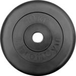 Купить Диск ProfiGym обрезиненный d 26 мм чёрный 10,0 кг купить недорого низкая цена
