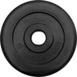 Купить Диск ProfiGym обрезиненный d 26 мм чёрный 2,5 кг купить недорого низкая цена