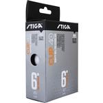 Купить Мяч для настольного тенниса Stiga Cup ABS (1110-2510-06) 6 шт купить недорого низкая цена