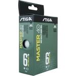 Купить Мяч для настольного тенниса Stiga Master ABS 1 звезда (1111-2410-06) 6 шт. купить недорого низкая цена