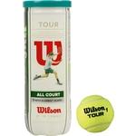 Купить Мяч для большого тенниса Wilson All Court 3B (WRT106300) 3 мяча купить недорого низкая цена