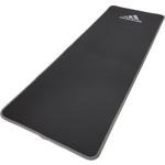 Купить Тренировочный коврик Adidas ADMT-12235GR (фитнес-мат) мягкий 10 мм, серый купить недорого низкая цена