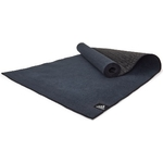 Купить Фитнес-мат Adidas ADYG-10680BK, 173x61x0,2 см для горячей йоги черный купить недорого низкая цена