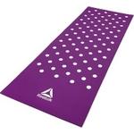 Купить Коврик для фитнеса Reebok RAMT-12235PL (мат) Белые Пятна 7 мм пурпурный отзывы покупателей специалистов владельцев