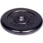 Купить Диск MB Barbell обрезиненный d 51 мм черный 10,0 кг отзывы покупателей специалистов владельцев