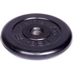 Купить Диск обрезиненный MB Barbell d 51 мм черный 5,0 кг купить недорого низкая цена