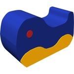 Купить Мягкий игровой модуль Romana Рыба - кит ДМФ-МК-01.12.00 отзывы покупателей специалистов владельцев