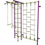 Купить Детский спортивный комплекс Пионер С3Л пурпурно/желтыйтехнические характеристики фото габариты размеры