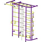 Купить Детский спортивный комплекс Пионер С5Л пурпурно/желтый отзывы покупателей специалистов владельцев