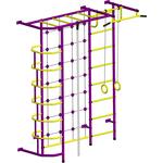 Купить Детский спортивный комплекс Пионер С5С пурпурно/желтыйтехнические характеристики фото габариты размеры