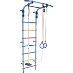 Купить Детский спортивный комплекс Формула здоровья Start 2 голубой/радуга купить недорого низкая цена