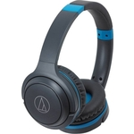 Наушники Audio-Technica ATH-S200BT grey/blue