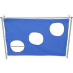 Купить Ворота игровые DFC GOAL240T 240x150x65 см. С тентом для отрабатывания ударов купить недорого низкая цена