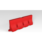 Купить ЭкоПром Дорожный блок 2000 классика красный (750х 550х 2000) купить недорого низкая цена