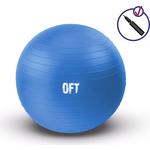 Купить Гимнастический мяч Original Fit.Tools 75 см синий купить недорого низкая цена