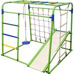 Купить Детский спортивный комплекс Формула здоровья Start baby 1 Плюс салатовый-радуга купить недорого низкая цена