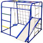 Купить Детский спортивный комплекс Формула здоровья Start baby 1 Плюс синий-радугатехнические характеристики фото габариты размеры