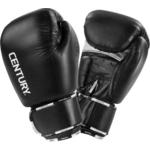 Купить Перчатки для бокса Century 146002-20 Creed кожа черные 20 унц купить недорого низкая цена