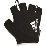 Купить Перчатки для фитнеса Adidas ADGB-12321 WH белые, размер S купить недорого низкая цена
