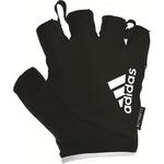 Купить Перчатки для фитнеса Adidas ADGB-12324 WH белые, размер XL купить недорого низкая цена