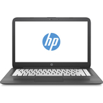 "Ноутбук HP Stream 14-ax018ur (2EQ35EA) grey 14"" (HD Cel N3060/4Gb/32Gb SSD/W10)"