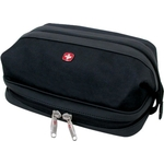 Несессер Wenger Deluxe Toiletry Kit, черный, 31х17х16 см, 8 л, шт