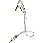 Кабель межблочный Inakustik Premium MP3 Audio Cable 90°, 3.5 Phone plug, 1.5 m, 004104015
