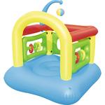 Купить Батут Bestway надувной 52122 BW 142х142х165 смтехнические характеристики фото габариты размеры