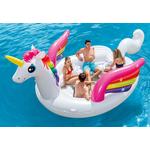 Купить Надувной остров Intex 57266 Единорог 503х335х173 см купить недорого низкая цена