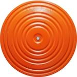 Купить Диск здоровья * MR-D-06 (диаметр 28 см) окрашенный оранжевый/черный отзывы покупателей специалистов владельцев