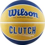 Купить Мяч баскетбольный Wilson Clutch (WTB14199XB07) р. 7 купить недорого низкая цена