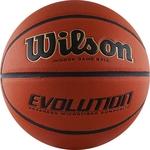 Купить Мяч баскетбольный Wilson Evolution (WTB0516XBEMEA) р. 7технические характеристики фото габариты размеры