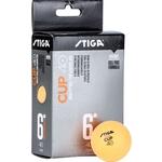 Купить Мяч для настольного тенниса Stiga Cup ABS 1110-2503-06 д.40+ мм (6 шт) отзывы покупателей специалистов владельцев