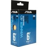 Купить Мяч для настольного тенниса Stiga Winner ABS 2зв 1111-2403-06 д.40+ мм (6 шт) отзывы покупателей специалистов владельцев