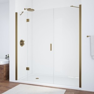 Душевая дверь Vegas Glass AFP-F 210 прозрачная, бронза, левая (AFP-F 210 05 01 L) двери дверь sawo 730 3sgd l 7 19 бронза левая без порога