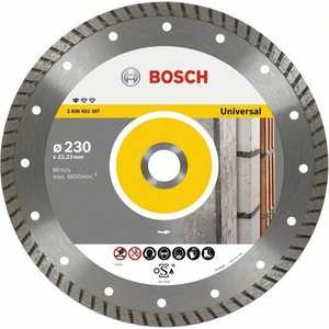 Диск алмазный Bosch 115х22.2мм Professional for Universal Turbo (2.608.602.393) диск алмазный bosch 150х22 2 мм best for universal turbo 2 608 602 673