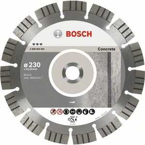 Диск алмазный Bosch 180х22.2мм Best for Concrete (2.608.602.654) цена