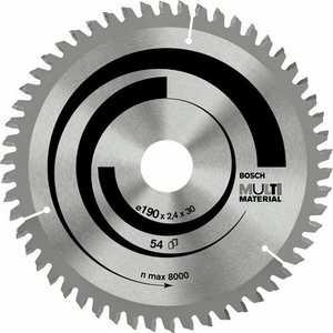 Диск пильный Bosch 190х20/16мм 54зуба Multi Material (2.608.640.508)